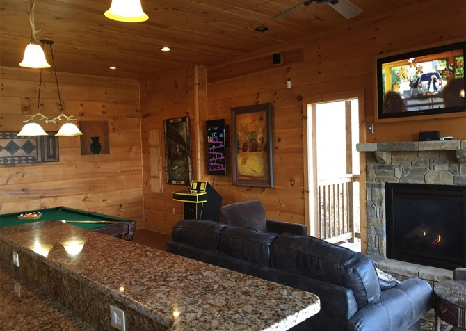 Pigeon Forge - A View to Remember - Rec Room
