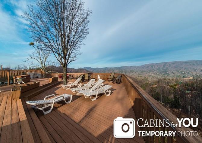 Pigeon Forge Cabin - Von Bryan Estate - Open Deck/View Temp