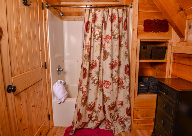 Sevierville - Like A Comet - Bathroom Two Shower