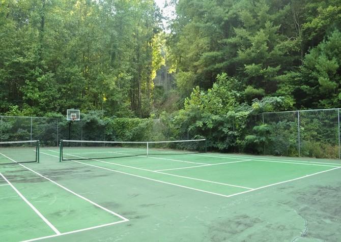 Pigeon Forge - Shagbark Resort - Tennis Court