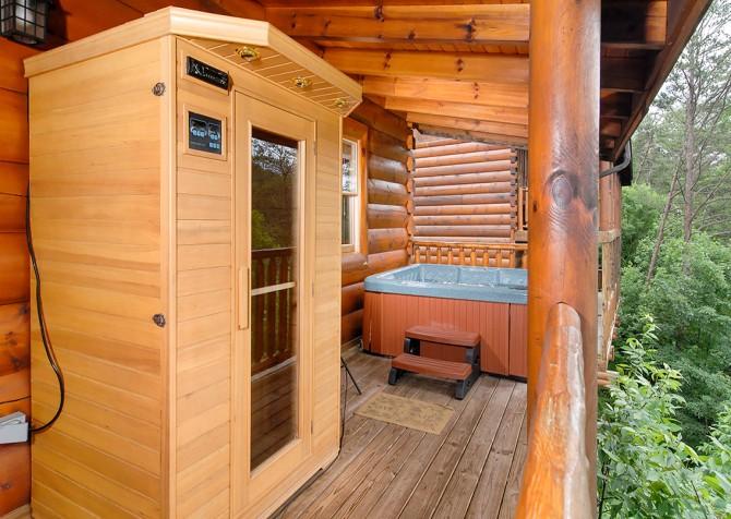 Pigeon Forge - Southern Comfort Escape - Sauna/Hot Tub