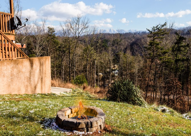 Pigeon Forge - A Splashtastic View - Fire Pit