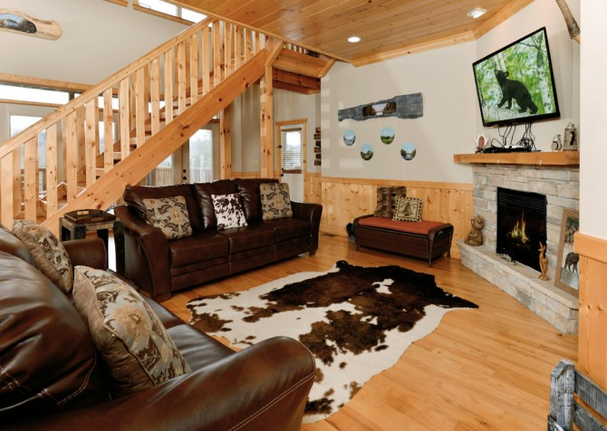 Pigeon Forge - A Splashtastic View - Living Room