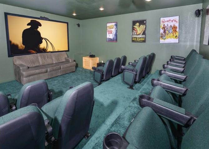 Pigeon Forge- Splish Splash- Theater Room