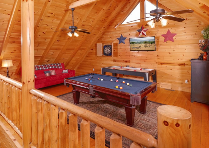 Pigeon Forge American Bear Cabin