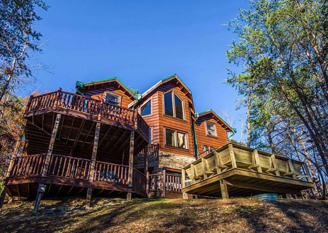 It's Good N Da Woods Lodge