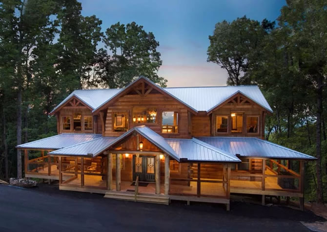 Log Cabins In Pigeon Forge With Indoor Pool