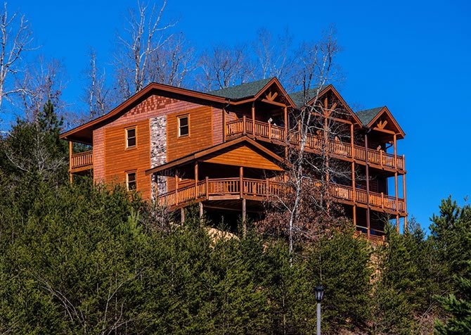 Large Group Cabins In Gatlinburg Pigeon Forge Tn