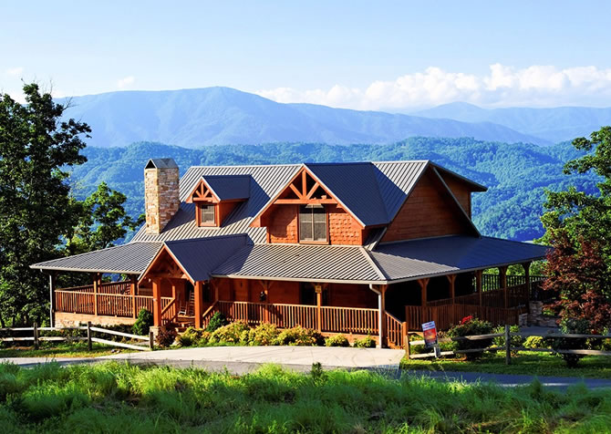 Pigeon forge cabins in pigeon forge tn for Little bear cabin in gatlinburg tn