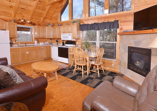 Pigeon forge cabins auntie sue amp amp 039 s cabin for Star catcher cabin pigeon forge tn