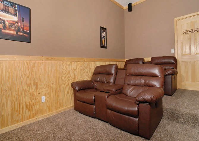 Timber Toy - Theater Room