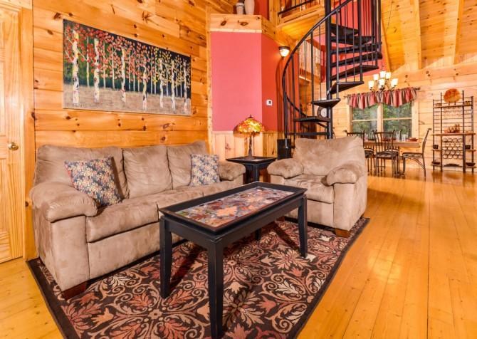 Turning Leaf Living Room