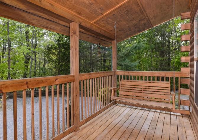 Unforgettable Porch Swing