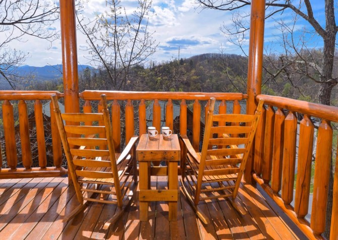 Pigeon Forge - View of God's Country - Rocking Chairs