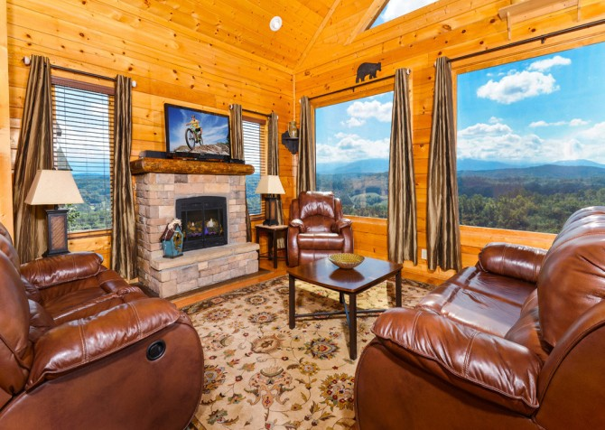 Villa Bellissimo Living Room