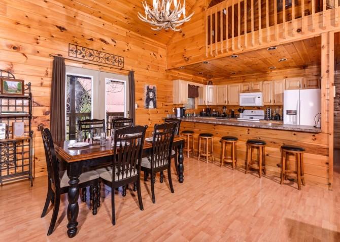 Wild Turkey Lodge Dining Room