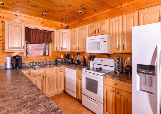 Wild Turkey Lodge Kitchen