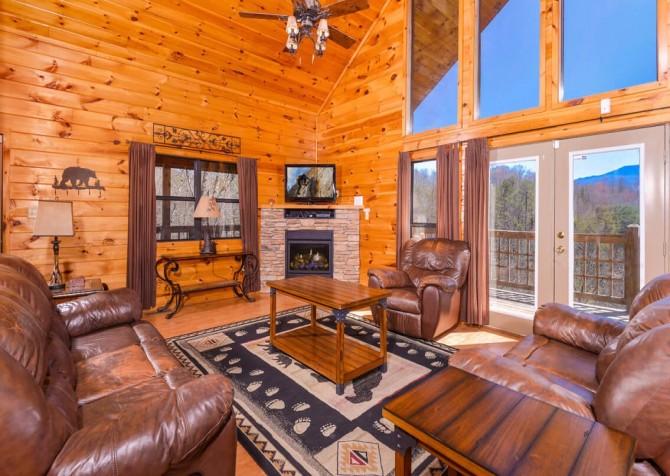 Wild Turkey Lodge Living Room