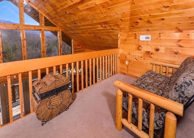 Wild Turkey Lodge Sitting Area