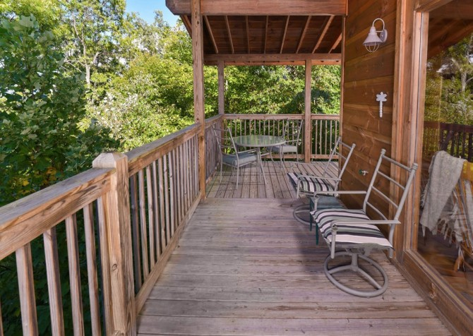 Windswept Retreat Covered Deck