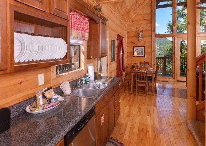 Windswept Retreat Kitchen