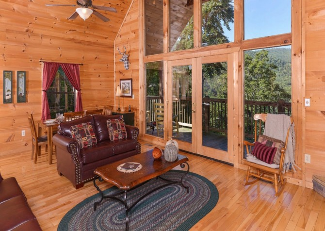 Windswept Retreat Living Room