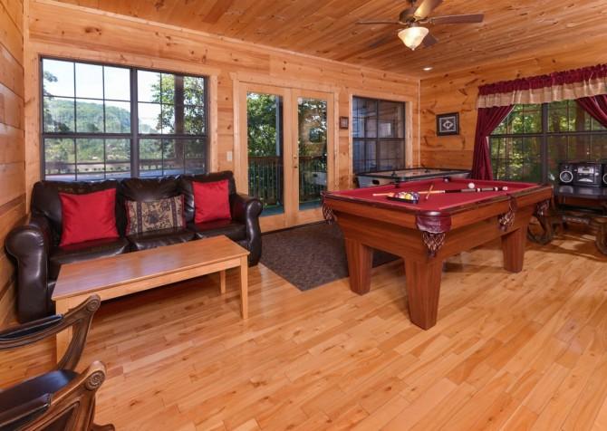 Windswept Retreat Recreation Room