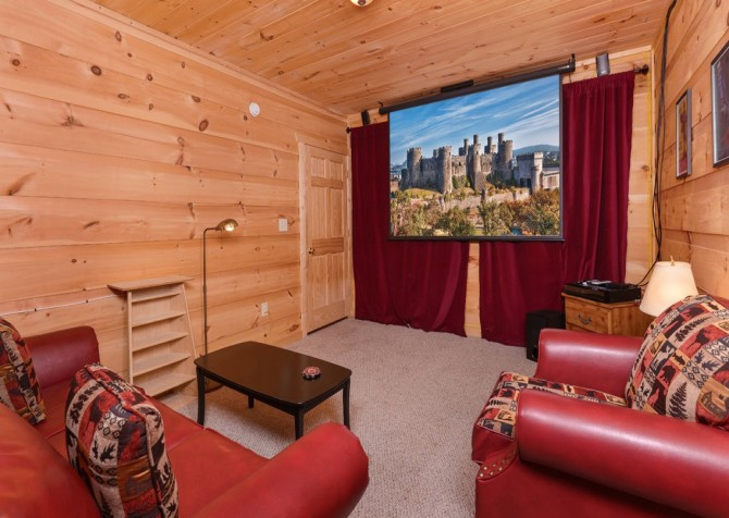 Windswept Retreat Theater Room