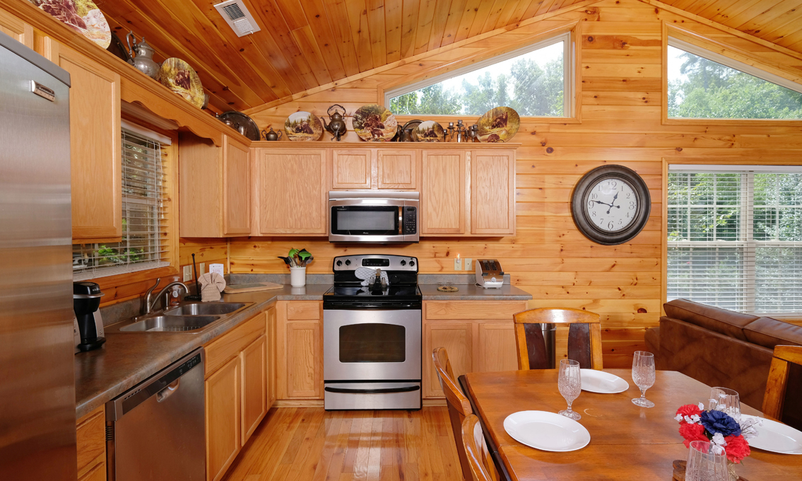 Pigeon Forge Cabins A Peaceful Place