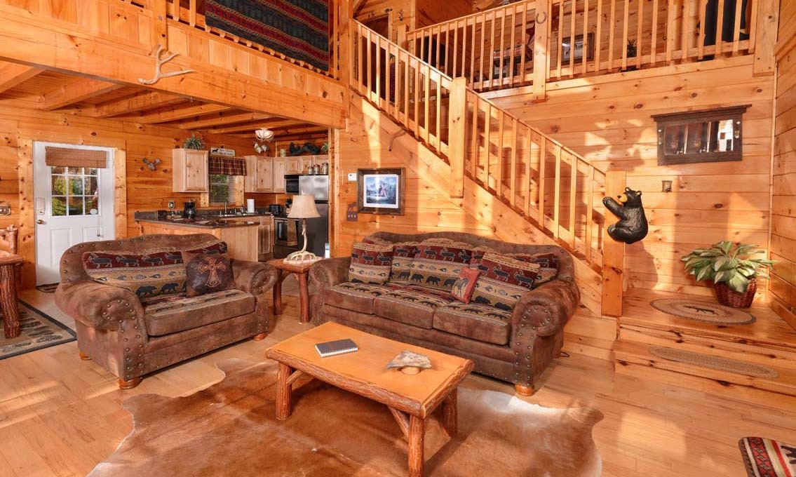 cabin kendall big tennessee properties bear cabins luelf point rentals forge pigeon