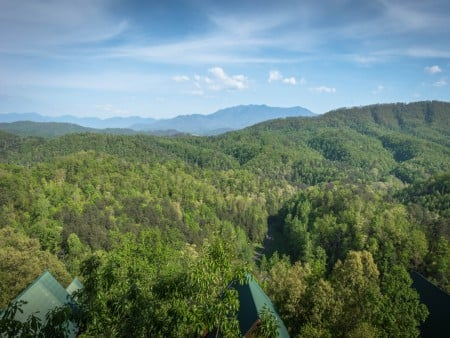 Pigeon Forge - Fitzgerald's Shamrock Chalet - View