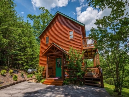 Pigeon Forge Cabin- American Pride – Exterior