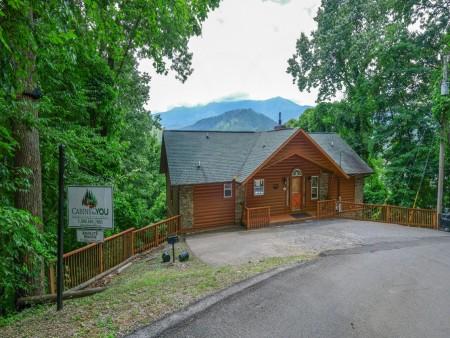 Gatlinburg Cabin - Absolute Heaven - Covered Deck/View