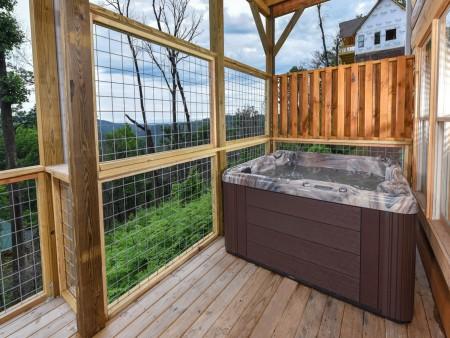 Gatlinburg - Big Bear Views Lodge - Hot Tub