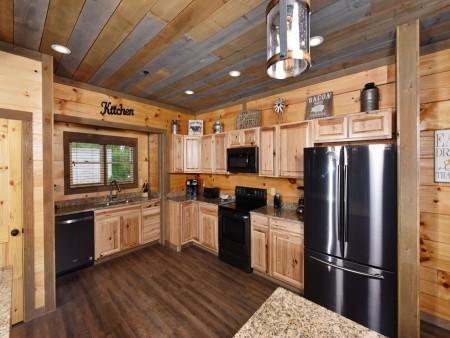 Gatlinburg - Big Bear Views Lodge - Kitchen