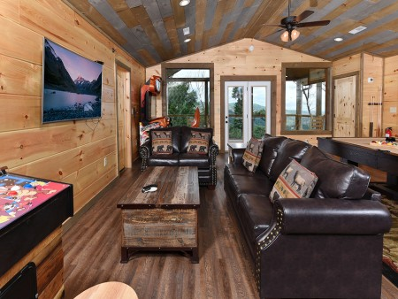 Gatlinburg - Big Bear Views Lodge - Rec Room