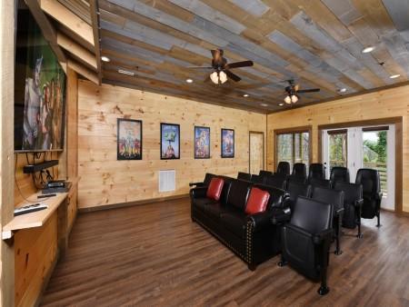 Gatlinburg - Big Bear Views Lodge - Theater Room