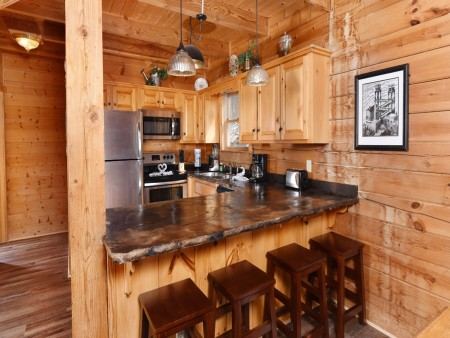 Pigeon Forge - Eagle View - Kitchen