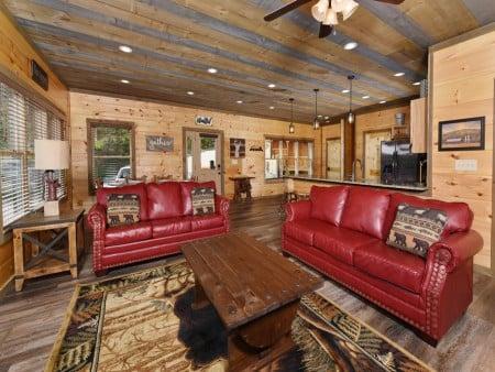 Gatlinburg - Splash N' Views - Living Room