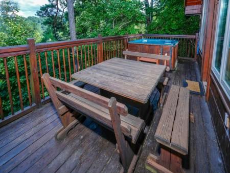 Gatlinburg - Squirrel's Nest - Deck