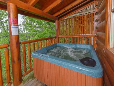 Pigeon Forge Cabin - A Wolf's Den - Hot Tub