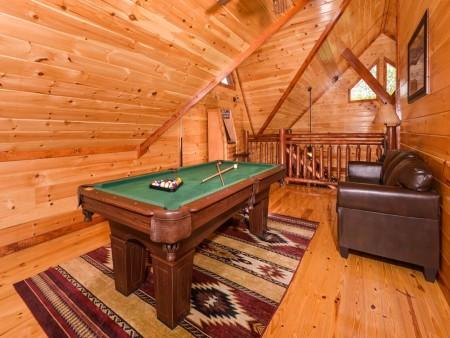 pigeon forge cabin – big bear plunge – games