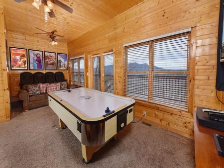 pigeon forge cabin – black bear ridge mountain views - rec