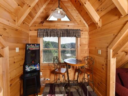 Pigeon Forge Cabin- Ever After – Rec Room
