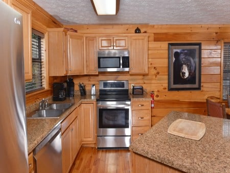 Pigeon Forge - Friendly Bear Lodge - Kitchen