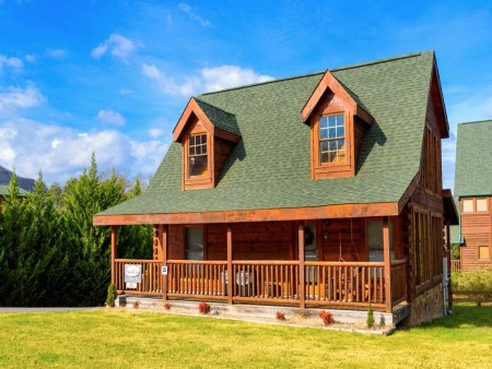 pigeon forge cabin – good times – view