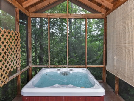 Pigeon Forge Cabin - Heart's Desire - Hot Tub