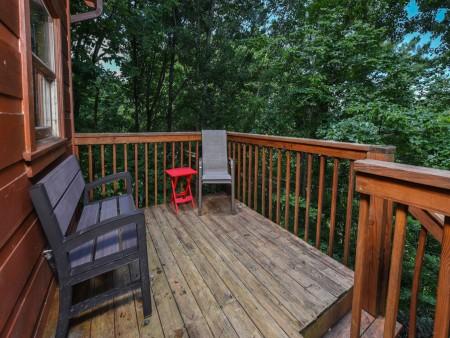 Pigeon Forge - Little Bear Lodge - Deck