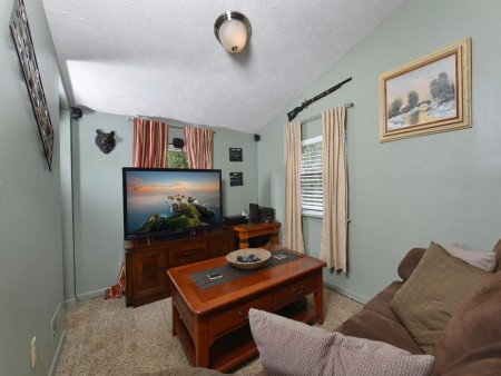 Pigeon Forge Cabin- Over The Top – Media Room
