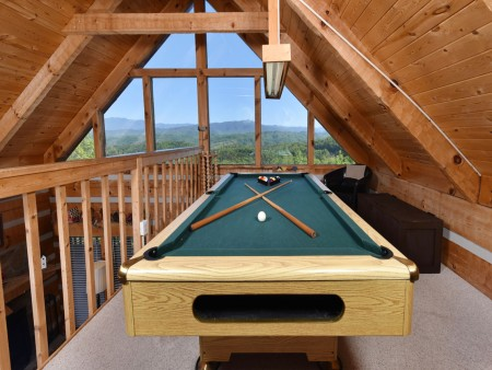 Pigeon Forge - Peak A View - pool table